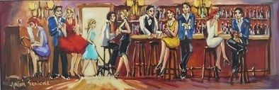 Bar Scene (oil) Gericke Anton