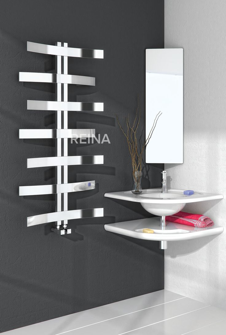 The Reina Lioni Stainless Steel designer heated towel rail. The perfect & practical solution for the kitchen or bathroom. The Illusions collection of Stainless steel radiators from Reina offer the very latest in hand-made modular radiator construction, the most sophisticated finishing and fresh & innovative designs. Available in Polished stainless steel. Complete with a 25 year guarantee. Priced at £497.64!