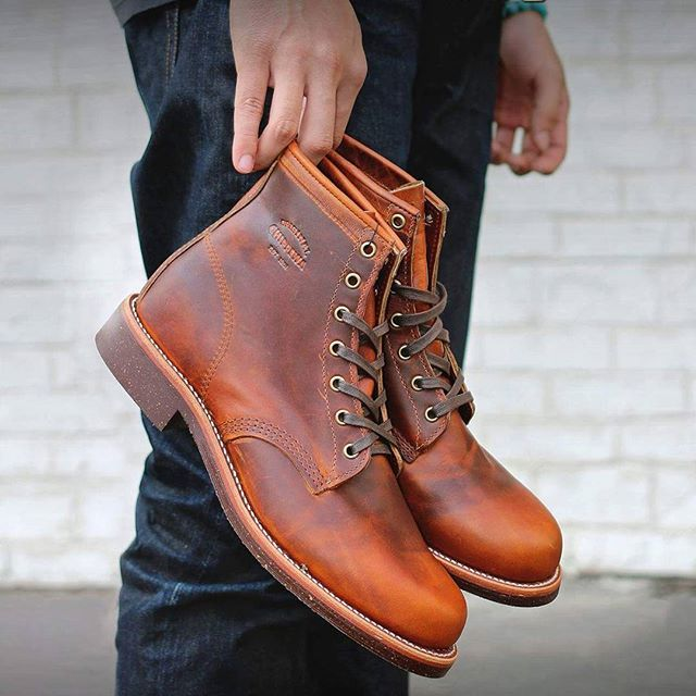 "@menboots @menboots @menboots  Chippewa Men's 6"" Tan Renegade General Utility Service Boots , $300  #chippewaboots #bootseason #madeinusa #mens #fashion #classic #leather #shoes #menswear #menstyle #handcrafted #usmadeboots #mystyle"