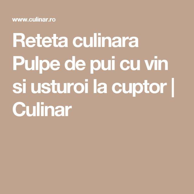 Reteta culinara Pulpe de pui cu vin si usturoi la cuptor | Culinar