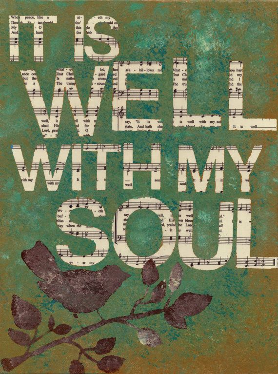 It Is Well With My Soul Painting by AshleyKossick on Etsy
