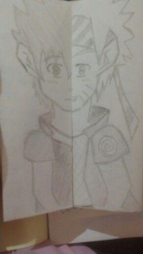 Half Sasuke and Half Naruto