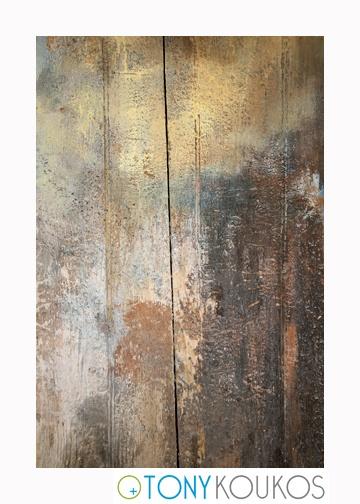 wood, vertical planks, paint, splatters, woodgrain, aged, dodecanese islands, greece, Tony Koukos, Koukos