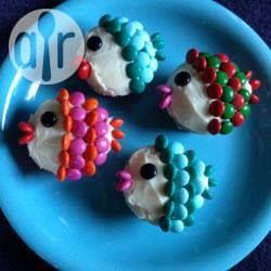 Décorer des muffins en petits poissons @ allrecipes.fr