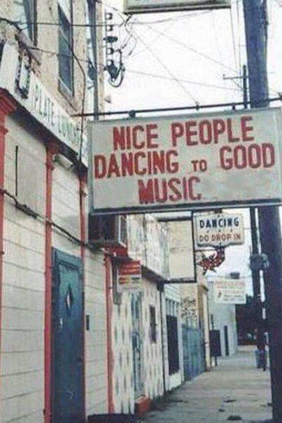dancing to good music