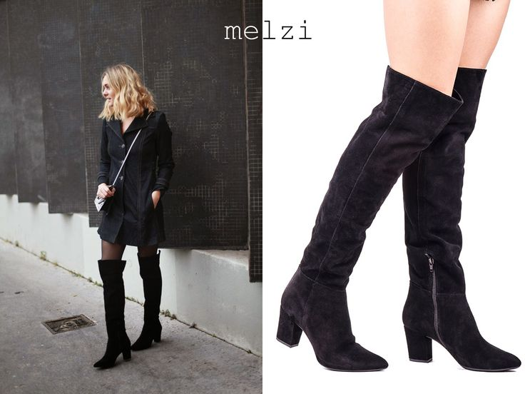 Adénorah, blogger from France, with our Melzi boots!