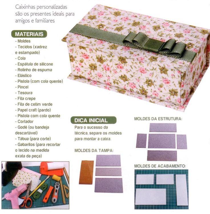 Voici le modèle d'une jolie boite en cartonnage à faire soit même, ou juste pour l'inspiration Et voici aussi le tutoriel de cette boite en cartonnage , un pas à pas en image pour vous aider ou vous inspirer Voici le modèle d'un joli sac à main à faire...