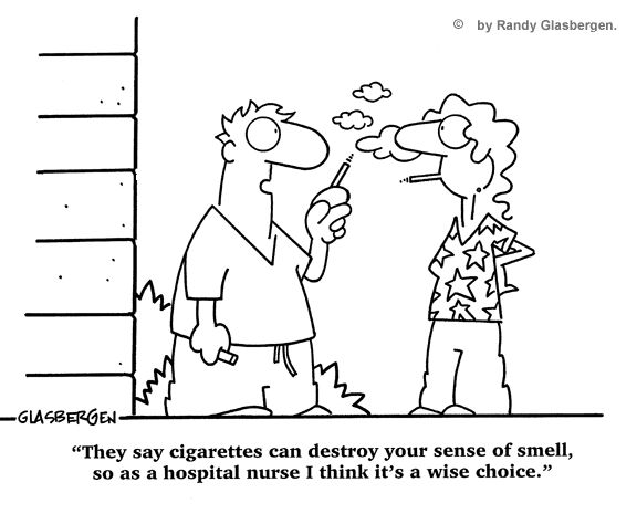 Nurse Cartoons Sense Of Smell Humor Nurse Cartoon And