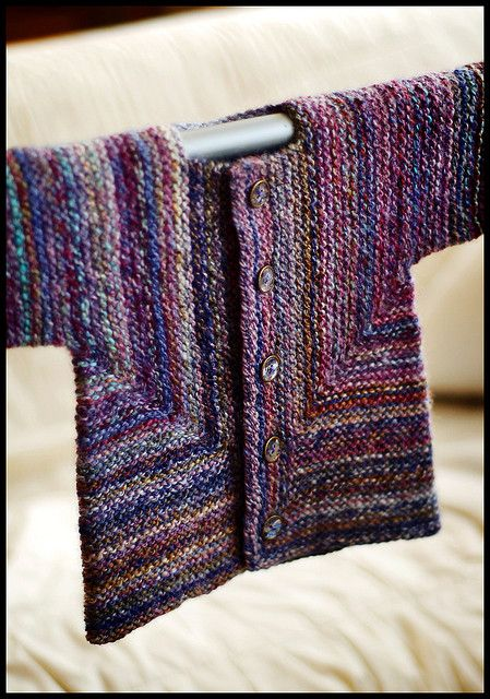 Ravelry: Baby Surprise Jacket pattern by Elizabeth Zimmermann