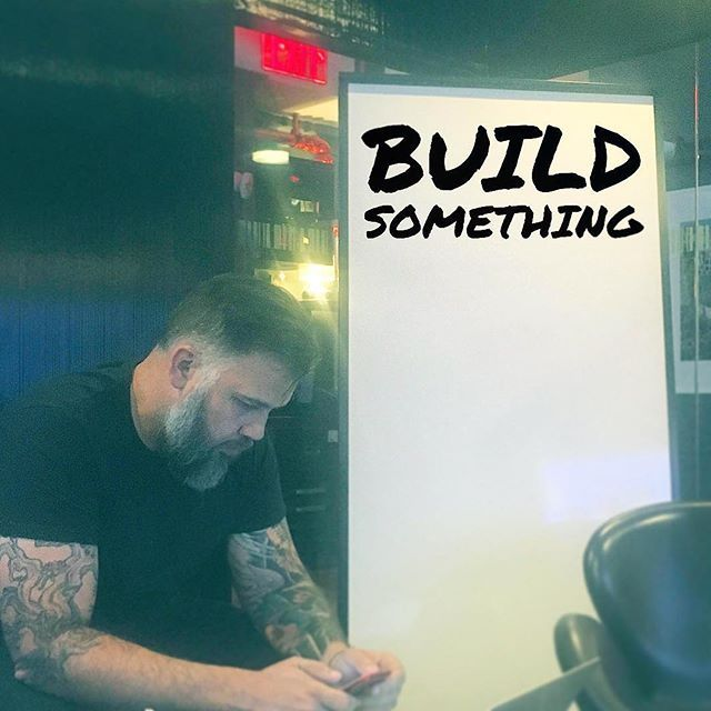 """""""Stop overthinking it, go out and build something. #startup #buildsomething #entrepreneur *_* *_* *_*  #startups #businesslife #businessowner #data #business #technology #tech #founder #CEO #work #working #grind #grinding #businessmode #grindmode #boss #grow #growth #growthhacker #growthhacking #marketing #digitalmarketing #digital"""" by @neal_conlon. • • • • • #digitalmarketing #onlinemarketing #marketing #branding #socialmediamarketing #seo #socialmedia #contentmarketing #advertising…"""