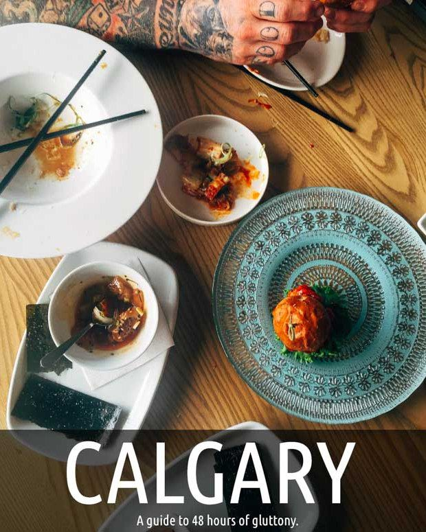 Wondering where to find the best Calgary restaurants, here's your 48 hour guide on any budget.