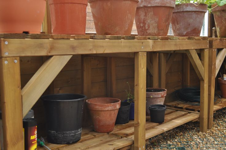 17 best images about greenhouse staging ideas on pinterest potting tables workbenches and. Black Bedroom Furniture Sets. Home Design Ideas
