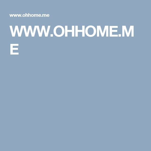 WWW.OHHOME.ME