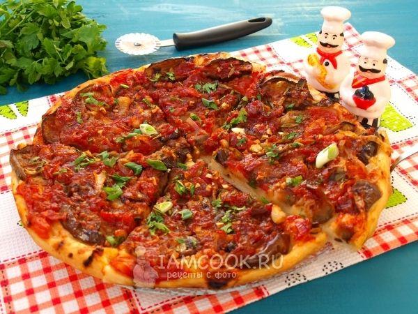 Фото вегетарианской пиццы