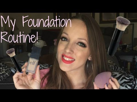 MY FOUNDATION ROUTINE (FACE MAKEUP) - YouTube