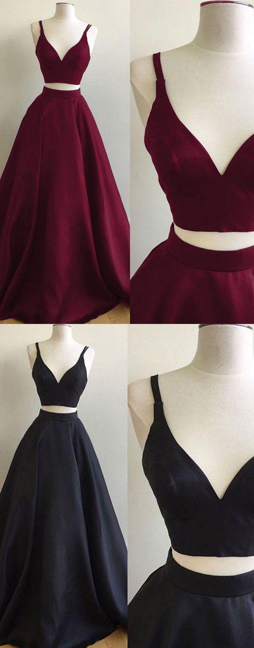 2017 two piece prom dresses,burgundy prom dresses,black prom dresses,prom dresses for teens,