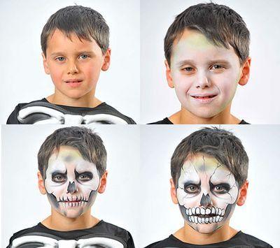 Trucco scheletro
