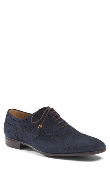 Gucci+'Jorn'+Cap+Toe+Oxford+(Men)+available+at+#Nordstrom
