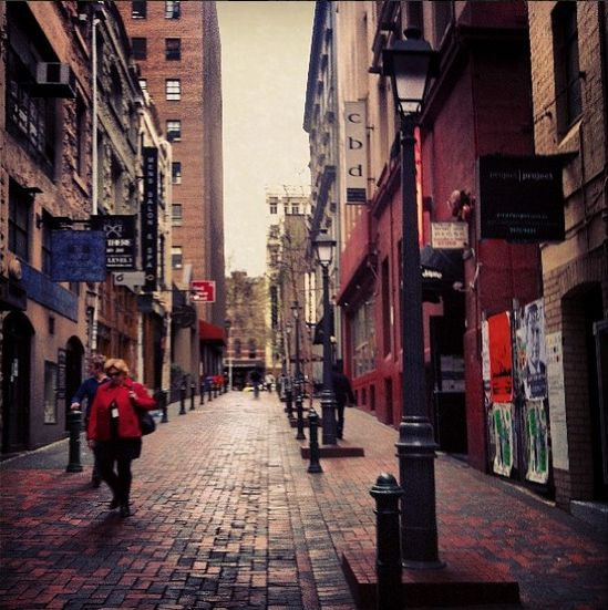 McKillop St, Melbourne - Australia. Went to an amazing restaurant called Red Spice Road.