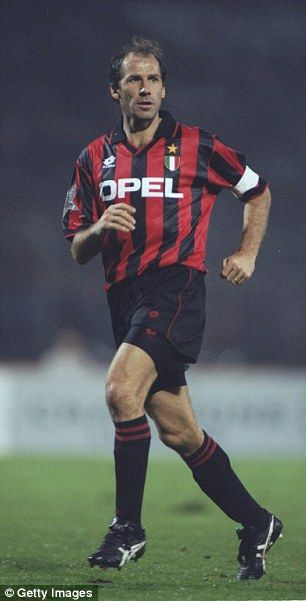 Milan legend Franco Baresi was a huge influence of Maldini's career and style of play