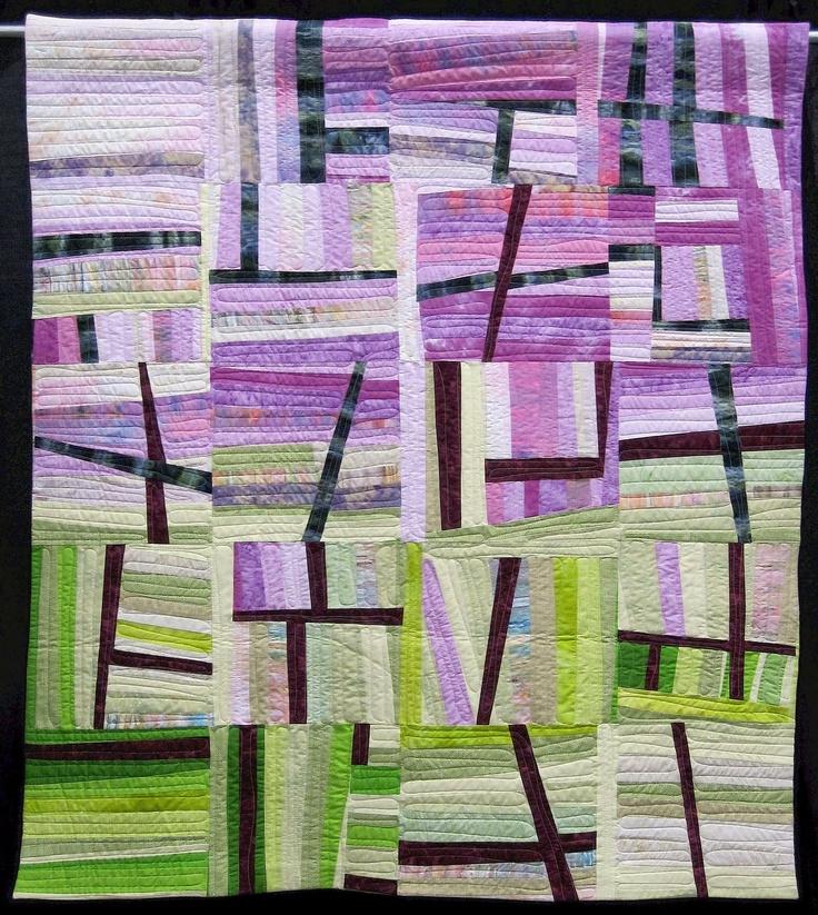 164 best Pick-up Sticks Quilts images on Pinterest   Quilt block ... : modern designer quilts - Adamdwight.com