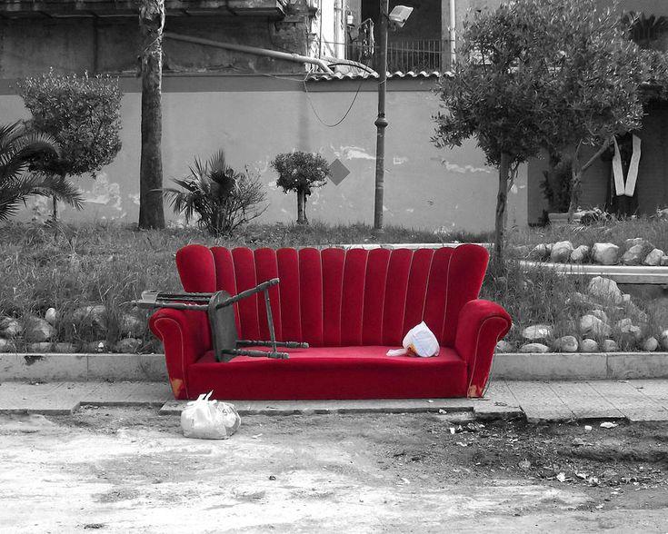 #Raccolta #rifiuti #ingombranti #basura #waste #spazzatura #rifiutiAbbandonati
