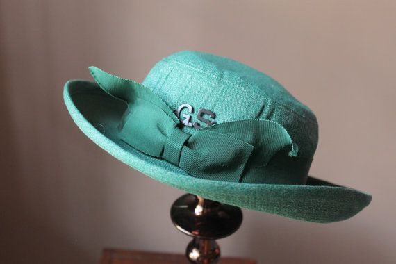 Vintage 50s Girl Scout Uniform Hat by DoAGoodTurn on Etsy, $39.00