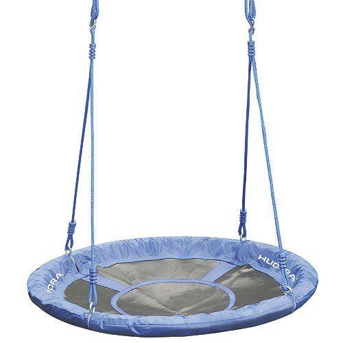 Für eine größere Ansicht klicken Sie auf das Bild HUDORA Nestschaukel 90 cm, blau - Garten-Schaukel bis 100 kg belastbar - 72126
