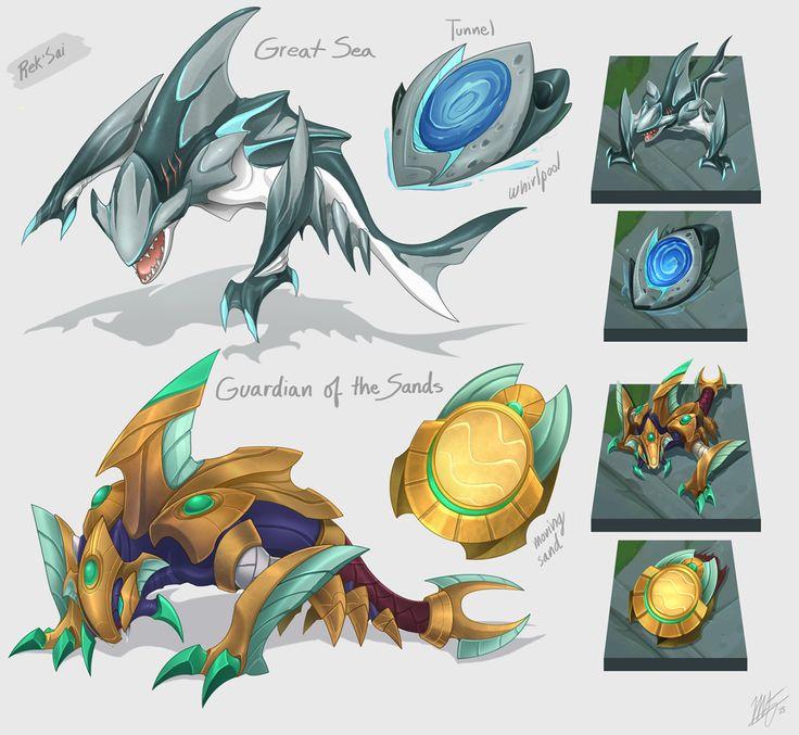 League of Legends Skin Concepts : Photo
