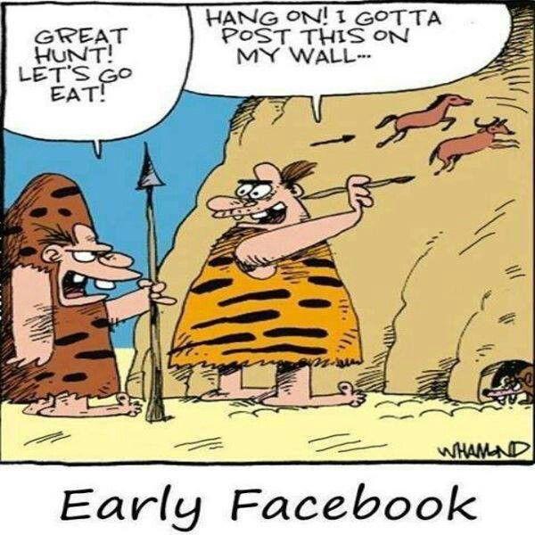 A my jsme si mysleli, že #facebook je něco nového!? Forhistorisk Facebook?