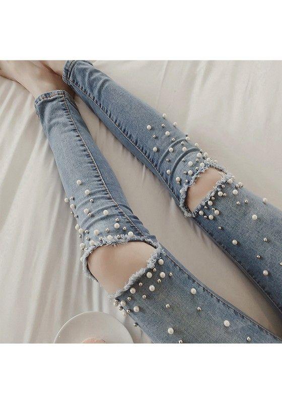die besten 25 zerrissene jeans ideen auf pinterest. Black Bedroom Furniture Sets. Home Design Ideas