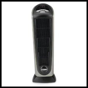 Ceramic Heater Reviews: Lasko 751320 Ceramic Tower Heater with Remote Control.