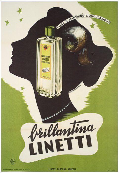 brillantina Linetti - 1954
