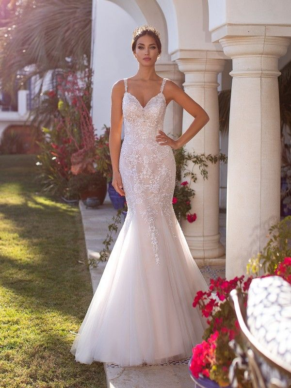 Mermaid Bridal Gown J6745 From The Moonlight Collection Beaded Wedding Gowns Top Wedding Dresses Wedding Dresses Sydney,Woman Wedding Dress Woman Cartoon Dress
