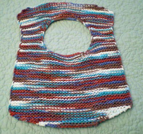 3 Hour Bib free knit pattern by Beverly Barton | Baby bibs ...