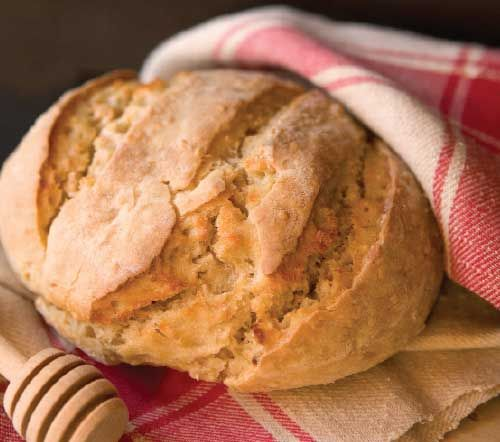 """Not so very long ago, bread was made using only two ingredients: flour and water. That was all—pulverized grains and good, fresh water. Naturally leavened bread, without chemical rising agents and baker's yeast (one variety of yeast singled out), was the authentic staple of my grandmother's generation, referred to as the """"staff of life."""""""