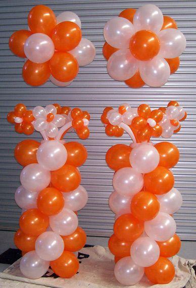 balloon jukeboxes | displays balloon arches columns balloon art floor arrangements table ...