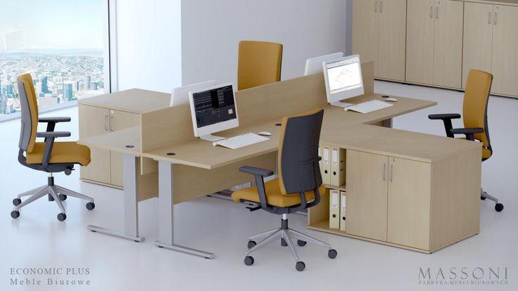 Biurka biurowe tanie Eco Plus