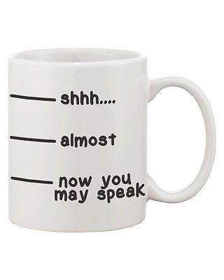 Refresh Your Mornings With This Cute Coffee Mug By 365 Printing