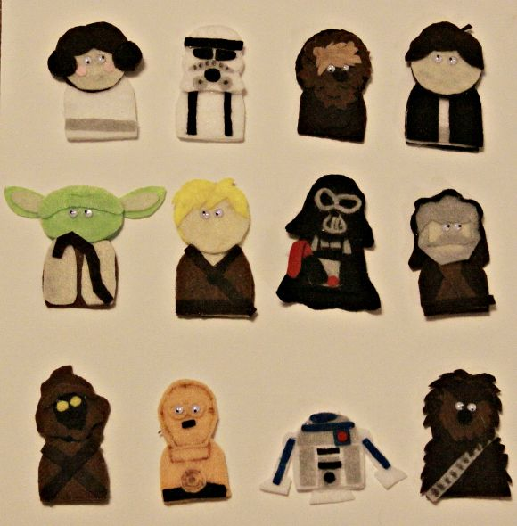 Star Wars Finger Puppets  Iu0027m So Doing This For My Nephew Lol · Puppet  CraftsKid ...