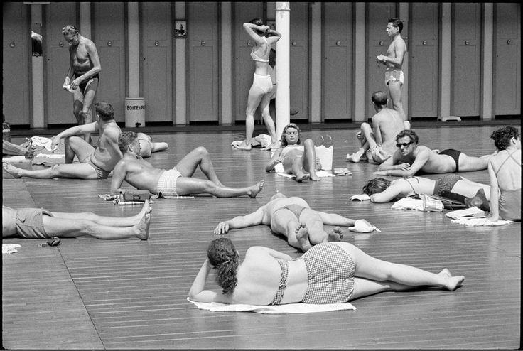 France paris 1955 7th arrondissement quai anatole for Swimming in paris