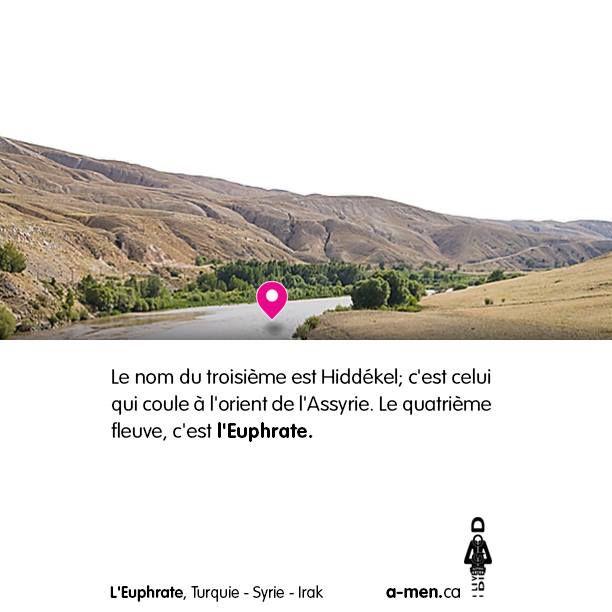 L'Euphrate, Turquie - Syrie - Irak http://www.a-men.ca/ http://www.fb.com/a.men.ca #amen