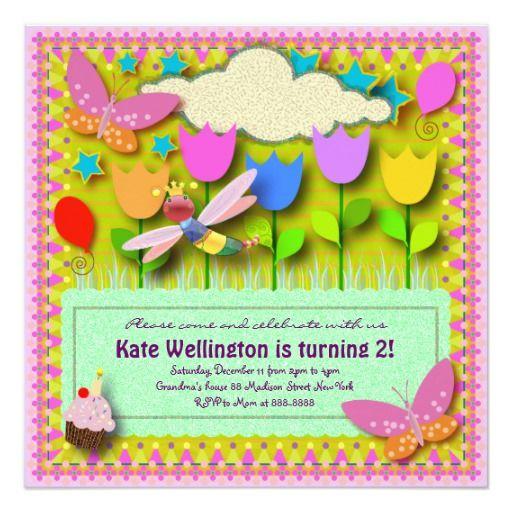 Kids Birthday Invitation 057: My backyard