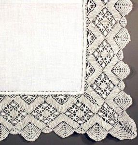 BOBBIN LACE VINTAGE STYLE CHEVRON SPIDERS EXQUISITE PILLOW COVER  #pillow #pillowcases #linen #lace #battenburg #bedding