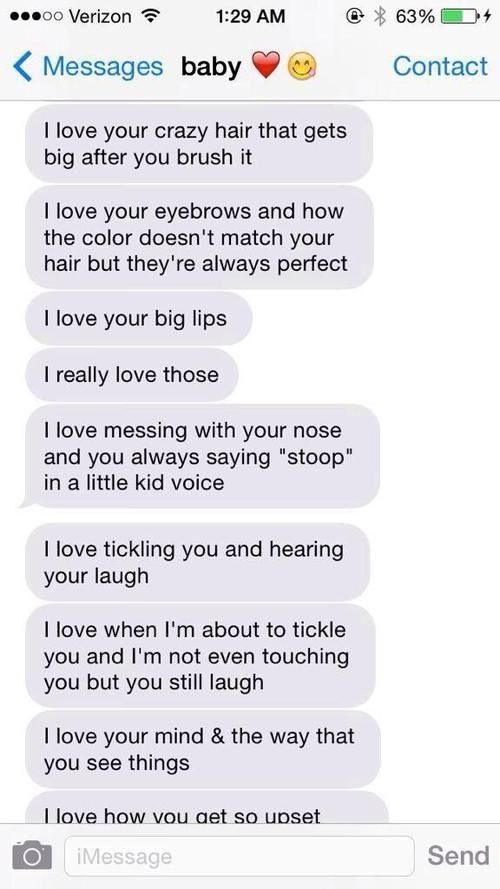 adorably cute relationship texts and goals