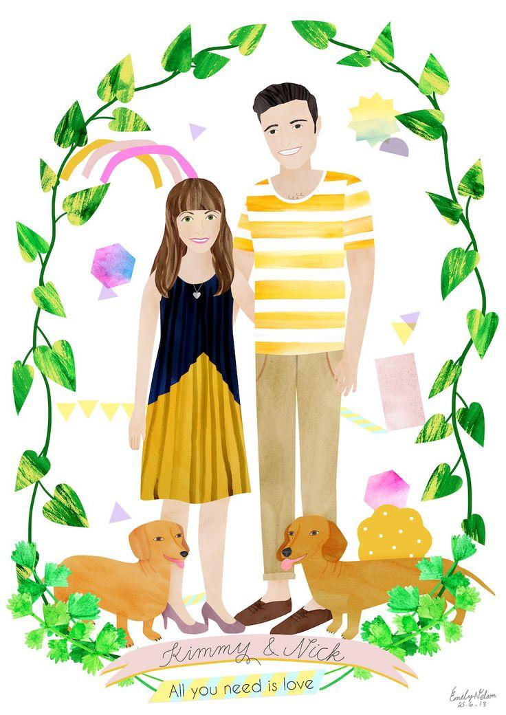 Custom Illustrations by Emily Nelson