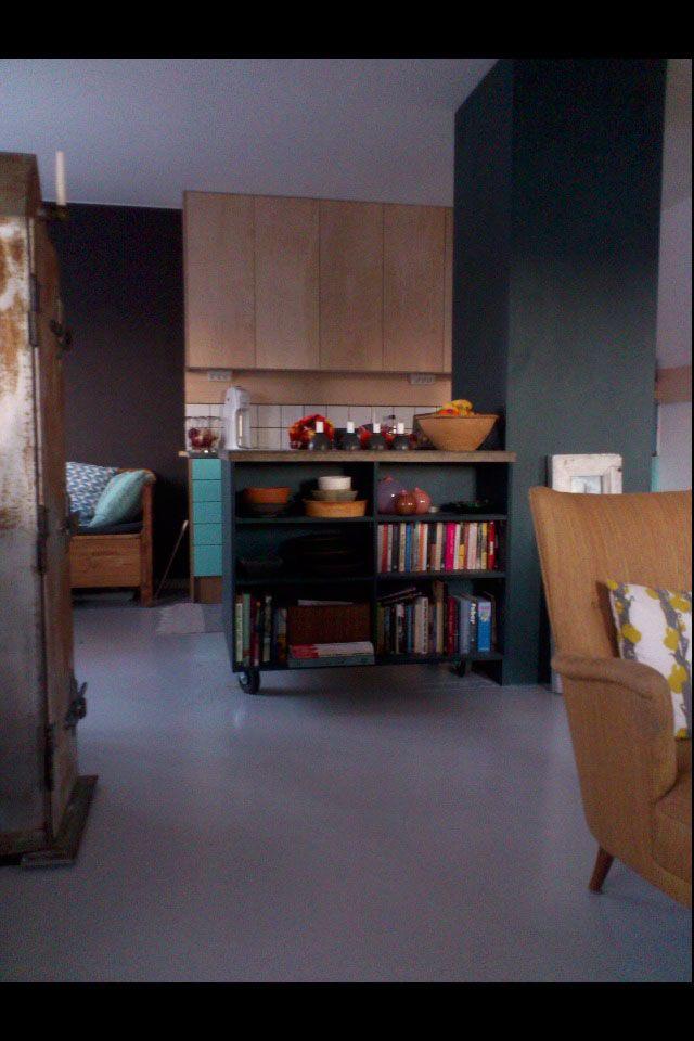 platsbyggd köksö kök moderskeppet stockholm