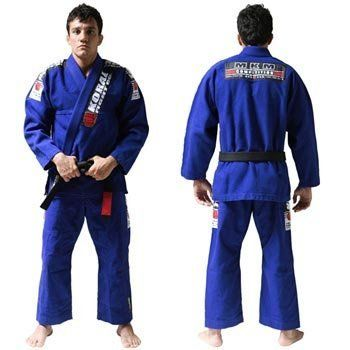 Koral Kimono MKM Blue - A2 by Koral. $199.90. High Performance Gi. 100% Cotton. 100% pre-shrunk. Slightly lighter fabric and looser fit compare to the MKM Gi. Koral logo printed on pants. Subject to an industrial process that provides total shrunk of the gi and top quality. Jacket is made with one piece of fabric with no seam in the back, providing strength, comfort and durability. Lapel has rubber inside to help keep it soft and make the gi dry faster. Also help prevent ...