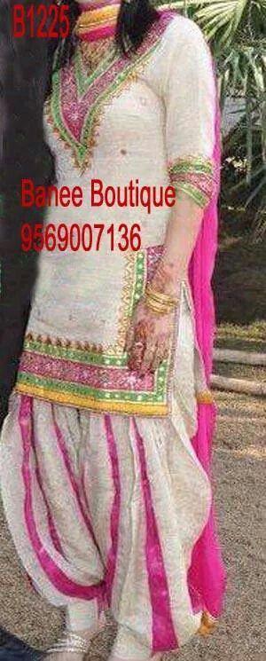 Beautiful punjabi dress