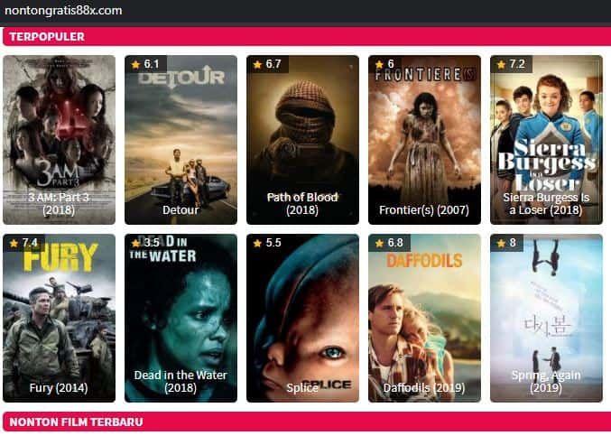 Nontongratis88 Situs Download Film Dan Nonton Gratis Lain Di 2020 Film Bioskop Entertainment
